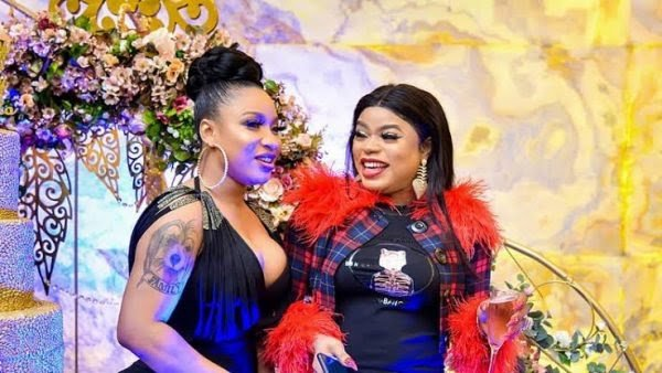 Bobrisky, Tonto Dikeh set to make history as first 'lesbians' to wed in Nigeria