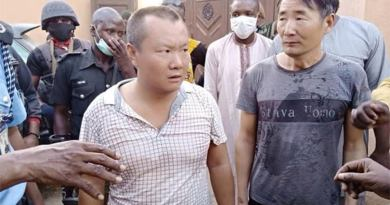 arrested chinese