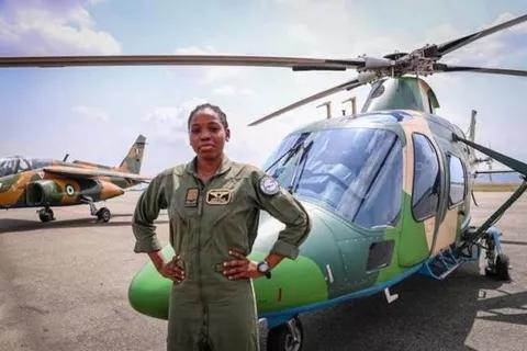 Nigeria's First and Only Female Combat Helicopter Pilot, Tolulope Arotile Dies at 23