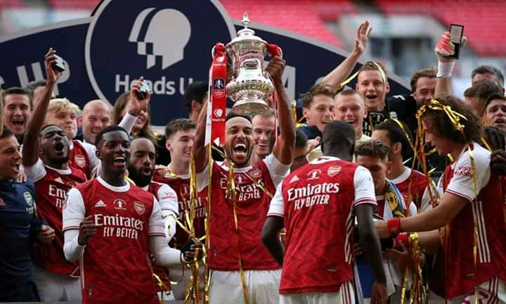 Arsenal Win 14th FA Cup, Beat Chelsea 2-1