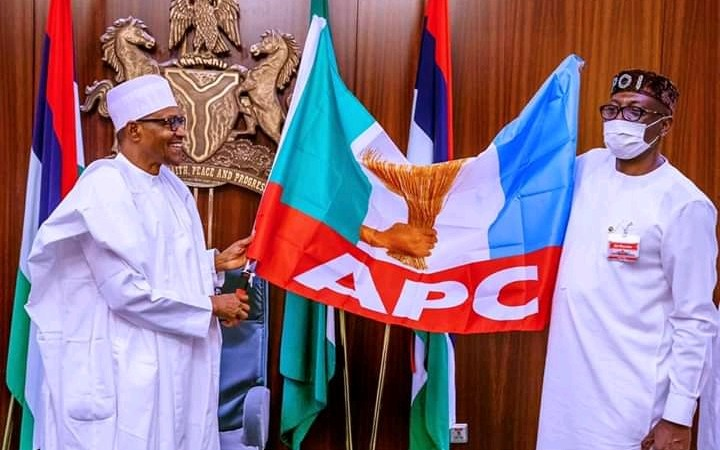 Edo Election: Buhari Meets APC Caretaker Chairman, Endorses Osagie Ize-Iyamu For Governor