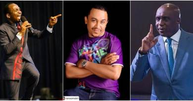 """You're a Mad Dog;"" More Woes For Daddy Freeze As Pastor Eneche Joins Ibiyeomie To Rain Curses On Him And His Fans [Video]"