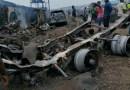 [PHOTOS] 15 Injured, Property Destroyed In Iju Gas Tanker Explosion