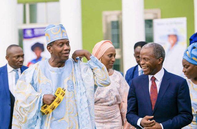 Daddy Adeboye and Osinbajo