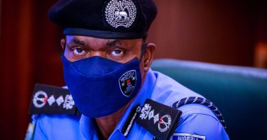 Mohammed Adamu Inspector General of Police
