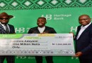 Heritage Bank Boosts Creative Industry with N5bn Funds, As Winner of Ynspyre Giveaway Competition Receives N1m