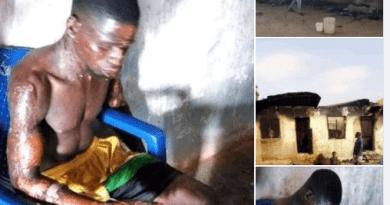18 year old girl sets boyfriend ablaze in BenueT