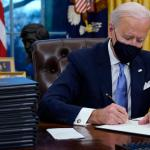 Biden says Trump left him a 'very generous letter before