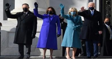 Biden arrives F