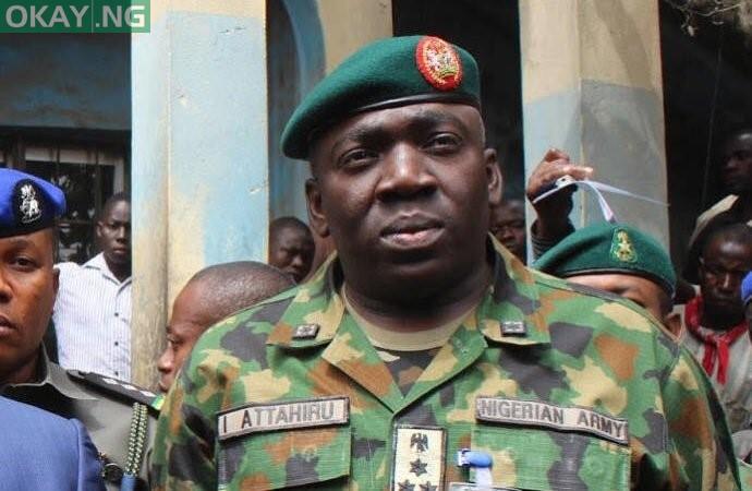 Chief of Army Staff Major General I. Attahiru