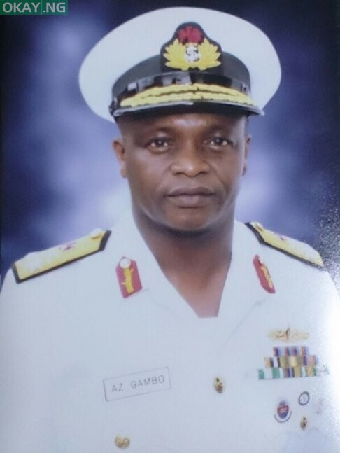Chief of Naval Staff Rear Admiral A.Z Gambo