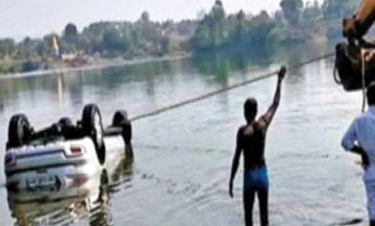 Maharashtra Man drowns Image Cartoq