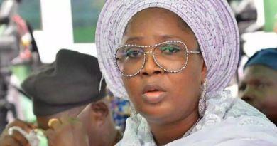 President General Association of Commodity Market Women and Men of Nigeria Mrs Folashade Tinubu Ojo