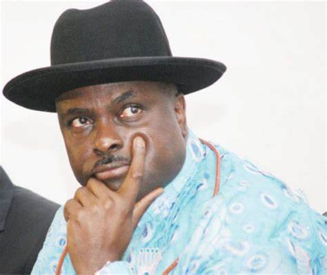 Former governor of Delta State James Ibori