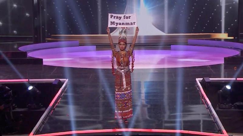 myanmar politics miss universe