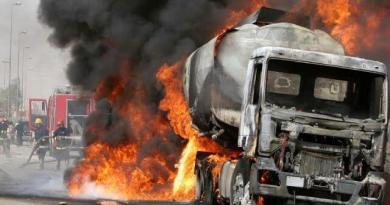 Tanker explosion 1