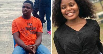 akwa ibom police parade 20 year old suspected killer of iniubong umoren says he killed her in self defense videos photos