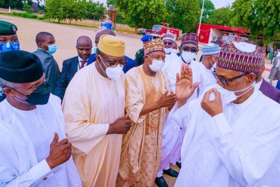 Buhari's son wedding