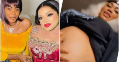 Bobriskys Former PA Oye Kme Flaunts Baby Bump Months After Leaving His House Over Domestic Violence 768x576 1