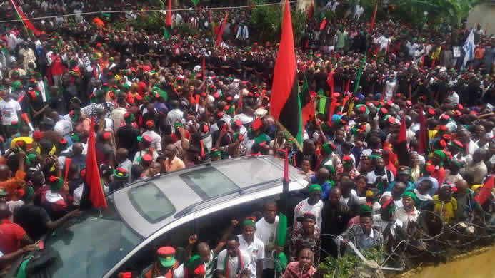 IPOB Threatens One Month Sit-Sit-At-Home-home protest in South-East If…