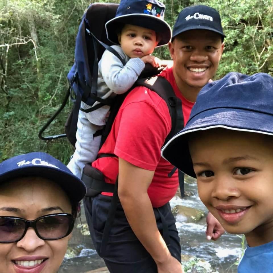 the cavern drakensberg family hike