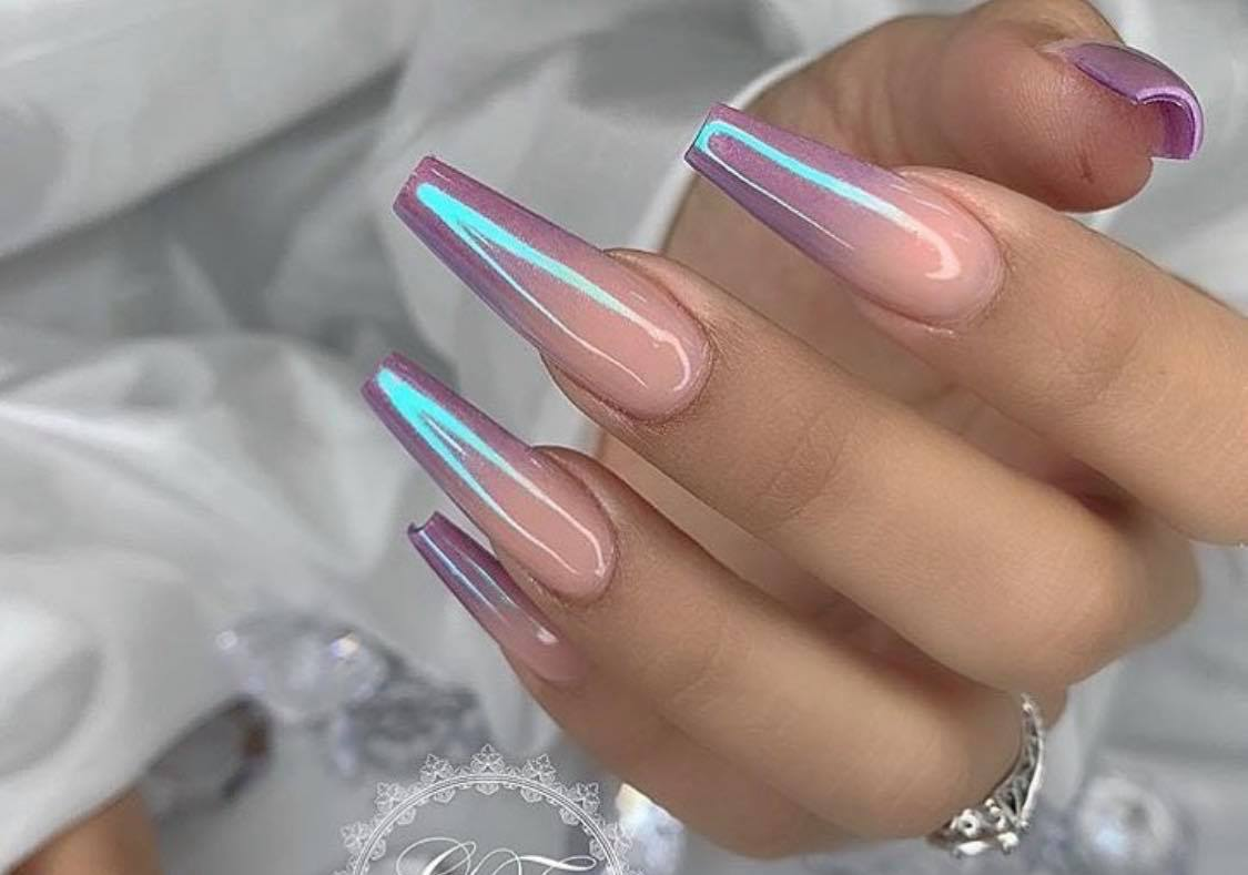 Colorful Ombre Nail Art To Try In 2019