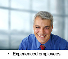 Experienced employees
