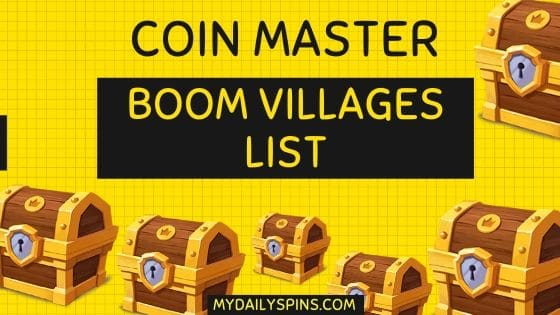 Coin Master village cost List