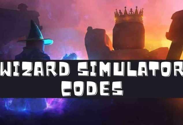Roblox wizard simulator codes
