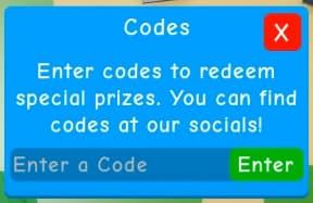 Clicking legends codes