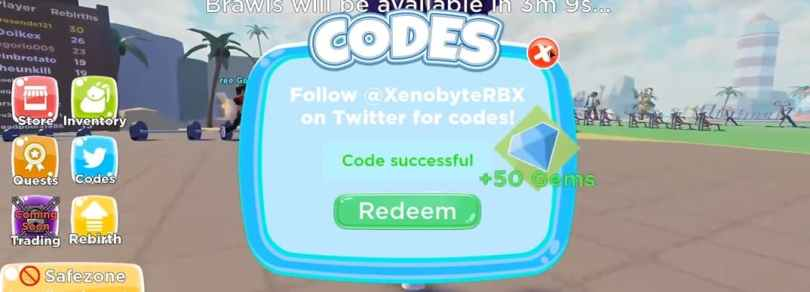 Gym Realms Codes