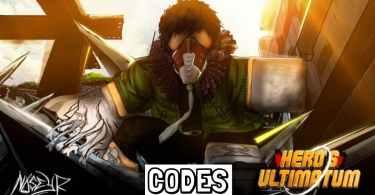 Roblox Hero's Ultimatum Codes list