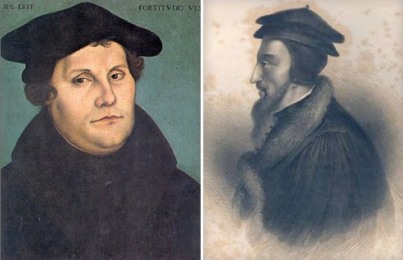 Valediction from John Calvin to Martin Luther