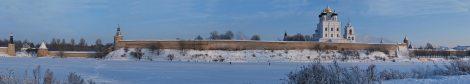 Pskov Kremlin in Winter