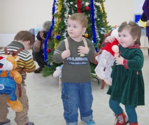 A special New Year's at the orphanage