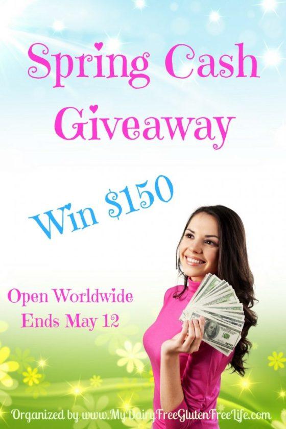 $150 Spring Cash Giveaway