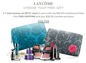 Exclusively at Lord & Taylor – choose your 7 piece gift with any Lancome purchase of $39.50+! Plus, you can save an extra 20% on your beauty purchase with ...