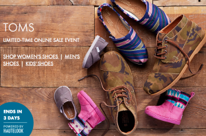 4c76939a7 Nordstrom Rack~ Up to 50% Off TOMS Shoes for the Family + FREE Shipping.  Posted by My Dallas Mommy on ...