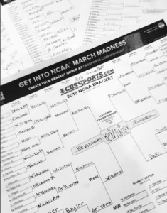 March Madness Bracket Mapping with Kids ~ Great Educational Tool