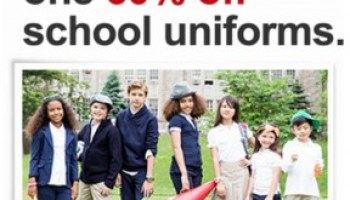 Target School Uniform Sale Buy One Get One 60 Off This Week My