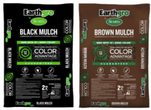 Home Depot Scotts Earthgro Mulch In Red Black Brown Only 2 Each