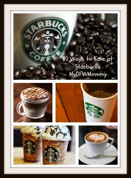 10 Ways to Save at Starbucks