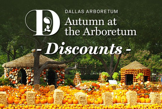About Dallas Arboretum The Dallas Arboretum is indeed one of the most spectacular outdoor attractions. It features an expansive piece of land filled with beautiful seasonal flowers, ornamental shrubs and various types of tree species. Admission and parking coupons enable attendees to access several advantages including slashed admission.