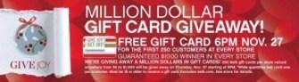 Belk Gift Card Giveaway Black Friday