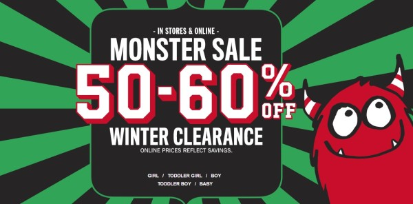 59f2a03b4 The Children's Place Monster Sale~ Clearance Items Start @ $3.99 Shipped