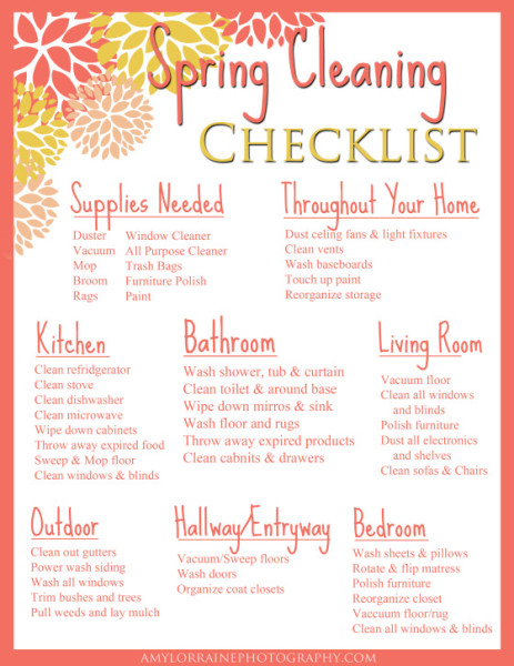 springcleanchecklist