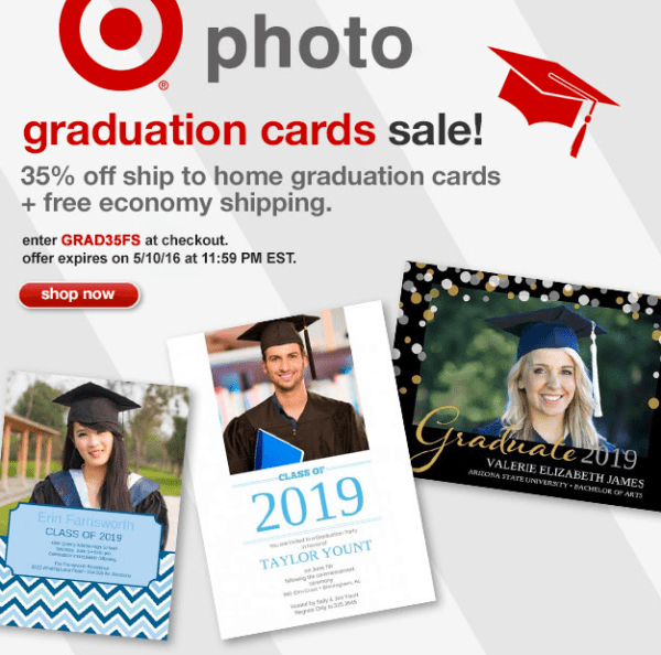 Target Photo 35 Off Graduation Cards Free Shipping Today Only