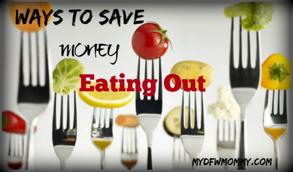 Ways to Save Money Eating Out