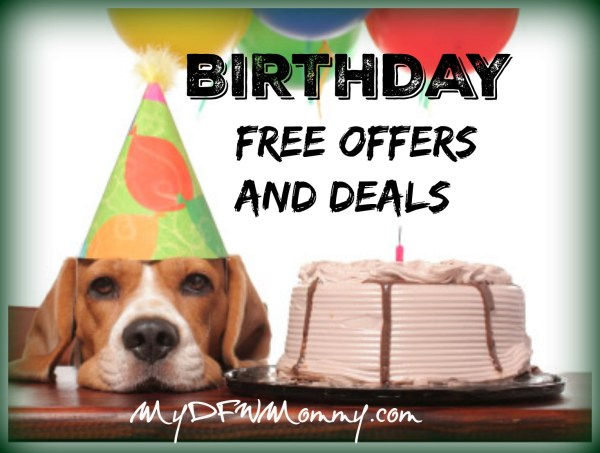 Birthday Free Offers and Deals