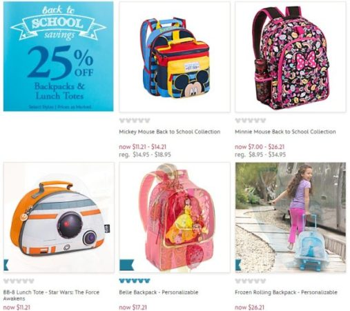 c6ed3b99a0f Also check out their Back To School Sale where you can save 25% on select  backpacks and lunch totes.